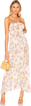Free People One Step Ahead Maxi Dress in White