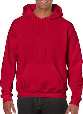 Undercover Gildan Heavy Fabric Hoodie - Red - XX-Large