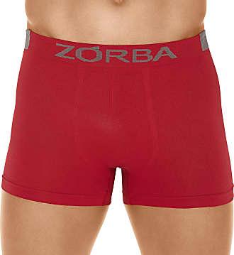 Zorba Cueca Boxer Microfibra Extreme, Zorba, Masculino, Vermelho, GG