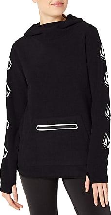 Volcom Womens Polartec Mid Hoody Fleece - Black - X-Small
