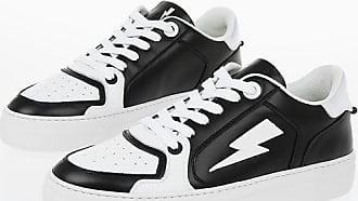 Neil Barrett Leather MODERNIST LOW BASKET Sneakers size 40