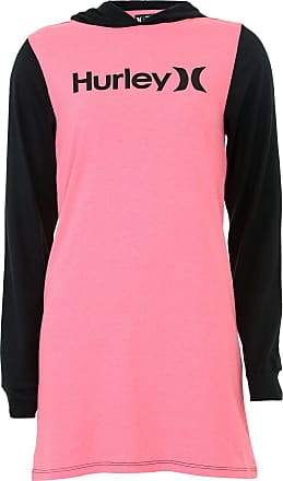 Hurley Vestido Hurley Curto One & Only Rosa