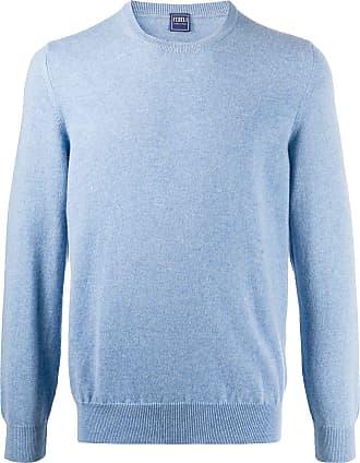 Fedeli knitted cashmere jumper - Azul