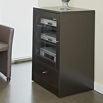 Unique Furniture Pure Home Media Cabinet - Espresso - 1242036-ESP