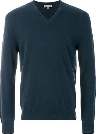 N.Peal The Burlington V-neck jumper - Blue