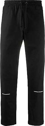 United Standard logo drawstring track trousers - Black