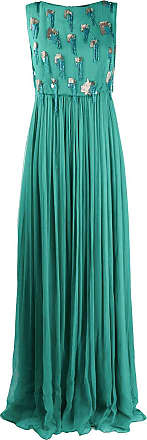 Just Cavalli sequin beaded evening dress - Green