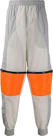U.P.W.W. Pantaloni sportivi con zip - Di colore grigio