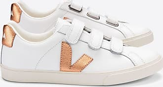 Veja 3-Lock MIT extra weißer Venus - white   leather   39 EU - White/White