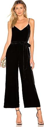 e8e75a3c06f2 L agence Jaelyn Velvet Camisole Jumpsuit in Black