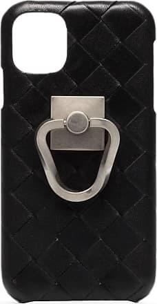Bottega Veneta Capa para iPhone 11 com trama Intrecciato - Preto