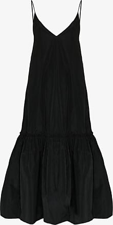Dries Van Noten Womens Black Diba Midi Dress