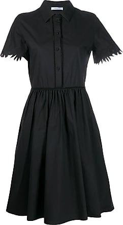 Blumarine short-sleeved shirt dress - Preto