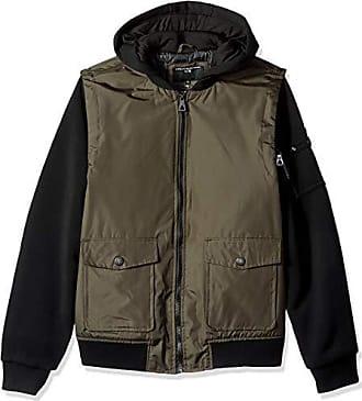 Urban Republic Mens Cloud Ballistic Jacket, Green M