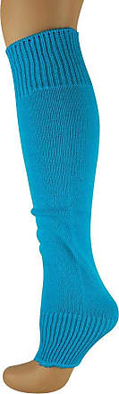 MySocks Leg Warmers Plain Aqua Blue