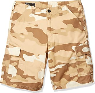 Oakley Mens Camo Commuter Cargo Shorts - New Desert Camo - 34 Waist