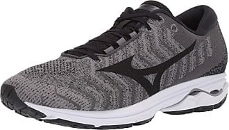 Mizuno Mens Wave Rider 23 WAVEKNIT Running Shoe, Quiet Shadeblack, 10.5 UK