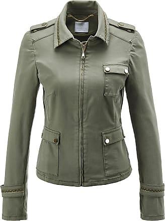 Damen Jacke mit Leinenanteil,Sommer-Business-Jacke 3//4 Arm in schwarz,Gr.36
