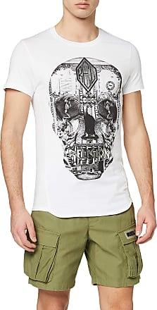 Religion Mens POSTERRIZED Skull TEE T-Shirt, White (White 013), X-Large (Size:XL)