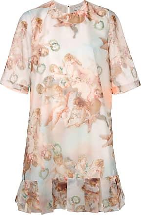 Karen Walker Azure angel print dress - Multicolour