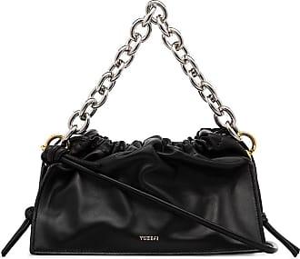 Yuzefi Bom leather shoulder bag - Black
