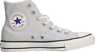 Converse Shoes Woman high Sneakers 560951C Size 37.5 Silver