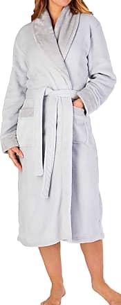 Slenderella HC6323 Women/'s Blue Dressing Gown House Coat Robe