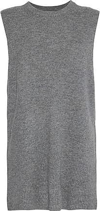 N.Peal N.peal Woman Ribbed Cashmere Top Gray Size XS