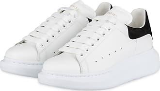 Alexander McQueen Plateau-Sneaker - WEISS/ SCHWARZ