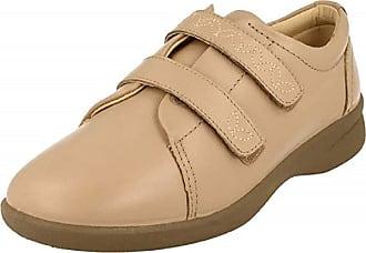b3fa849282f7 Padders REVIVE 2 Ladies Velcro Wide EEE EEEE Fit Shoes Nude UK 4