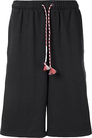 Qasimi drop-crotch shorts - Black