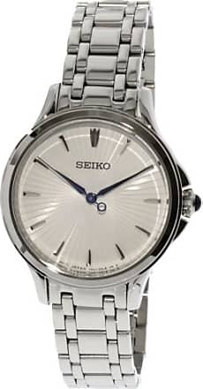 Seiko Womens SRZ491 Silver Stainless-Steel Japanese Quartz Dress Watch