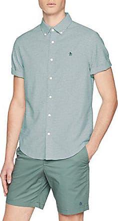 ORIGINAL PENGUIN Linen Camisa de Oficina para Hombre
