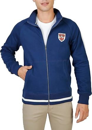 Oxford University Mens Sweatshirt Blue Blue Small