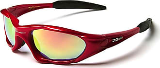 X Loop Ski & Sporting Sunglasses for Adults - Unique Size - UV400 Protection - Running/Skiing/Snowboarding/Fishing/Cycling - (With Vault Case)