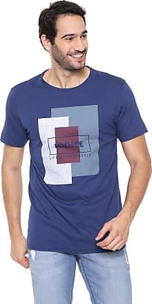 Iodice Camiseta Iódice Estampada Azul