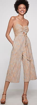BCBGeneration Basket Weave Cutout Jumpsuit
