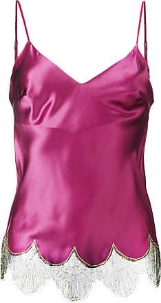 Gilda & Pearl lace trim camisole - Rosa