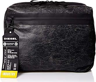 Diesel Mens VOLPAGO CROSSPLUS-Belt Bag, Treated Black, UNI