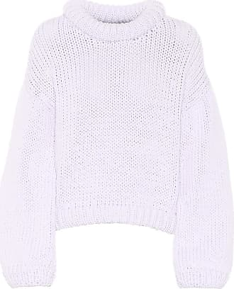 Tibi Cotton-blend cropped sweater