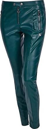 Sportalm Figurbetonte Fake-Leder Hose im Biker-Look Größe:34
