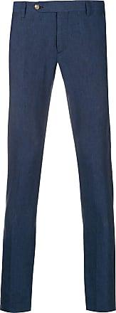 Entre Amis Calça de alfaiataria skinny - Azul