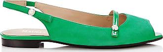 Madeleine Elegante Ballerinas in grün MADELEINE Gr 36 für Damen. Synthetik