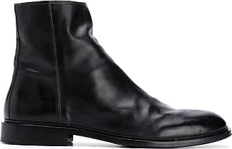 Paul Smith Bota de couro - Preto