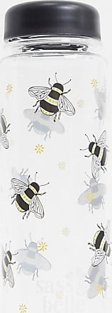 Sass & Belle water bottle in busy bees print-Multi