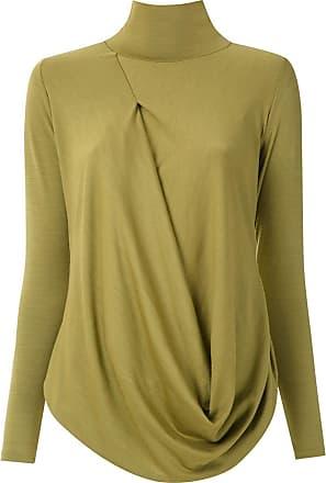Uma Blusa a collo alto Church - Di colore verde