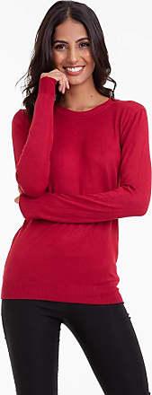 Kinara Suéter Tricot Gola Redonda Kinara