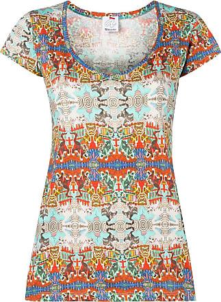 Ultra Chic St. Gatti patterned T-shirt - Neutrals