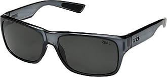 Zeal Optics Fowler (Black Gloss/Polarized Dark Grey Lens) Athletic Performance Sport Sunglasses