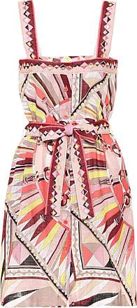 Emilio Pucci Printed cotton minidress